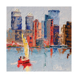 New York Harbor Prints by Leslie Saeta