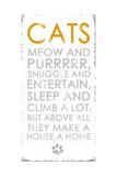 Cats Giclee Print by Anna Quach