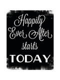 Happily Ever After Poster by Caitie Harris