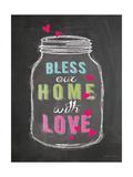 Bless Our Home Lámina giclée por Stephanie Marrott