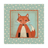 Fox in Frame Print by Stephanie Marrott