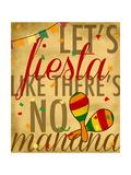 Let's Fiesta Giclee Print by Anna Quach