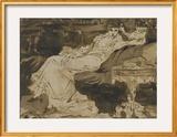 Portrait de Sarah Bernhardt, étude préparatoire Poster by Georges Clairin