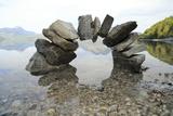 A Bridge with Stones Photographic Print by  Trbilder