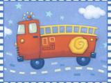 Fire Truck Plakaty autor Viv Eisner