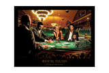 RoyalFlush Reproduction giclée Premium par Chris Consani
