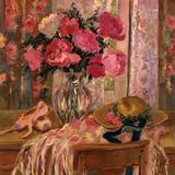 Pink Roses and Ballet Shoes Posters par Allayn Stevens