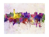 Albany Skyline in Watercolor Background Posters by  paulrommer