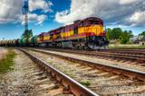 Long Freight Train Fotografisk trykk av  Risto0