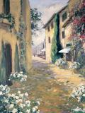 Italian Villa II Print by Allayn Stevens