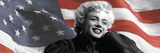 Patriotic Blonde Detail Photographic Print by Robert Everson