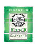 Cigaweed California Reefer Art by JJ Brando
