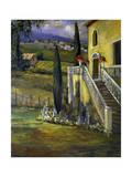 Italian Villa II Affiches par Allayn Stevens