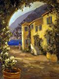 Italian Villa I Poster by Allayn Stevens
