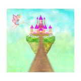 Magic Fairy Tale Princess Castle Prints by  JackyBrown