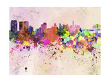 Philadelphia Skyline in Watercolor Background Posters by  paulrommer