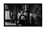 Celebrity Noir Triptych Poster by Chris Consani