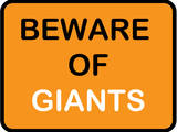 Beware of Giants Prints