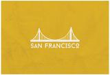 San Francisco Minimalism Posters