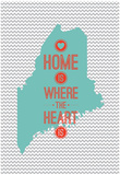 Home Is Where The Heart Is - Maine Photo