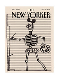 Untitled, Circa 1967 - The New Yorker Cover, September 15, 2014 Regular Giclee Print by Saul Steinberg