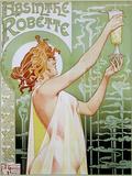 T Privat-Livemont Absinthe Robette Art Print Poster Plakaty