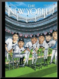 The New Yorker Cover - April 8, 2013 Mounted Print by Mark Ulriksen