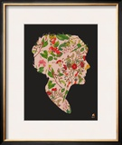 Floral Woman Print by  Methane Studios