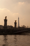 Pont Alexandre III and Eiffel Tower Posters by  teddyh
