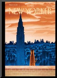 The New Yorker Cover - January 12, 2009 Mounted Print by Mark Ulriksen