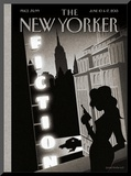 The New Yorker Cover - June 10, 2013 Mounted Print by Birgit Schössow