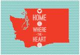 Home Is Where The Heart Is - Washington Photo