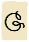 G letterform Print