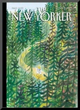 The New Yorker Cover - August 2, 2010 Mounted Print by Jean-Jacques Sempé
