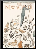 The New Yorker Cover - January 21, 2013 Mounted Print by Barry Blitt