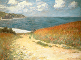 Path Through the Corn at Pourville Poster