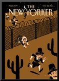 The New Yorker Cover - November 28, 2011 Mounted Print by Christoph Niemann