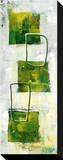 Green Windows I Reprodukce na plátně