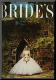 Brides Cover - February 1957 Mounted Print by Carmen Schiavone
