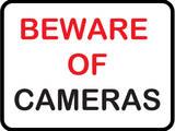 Beware of Cameras Posters