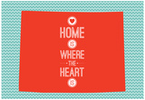 Home Is Where The Heart Is - Wyoming Posters