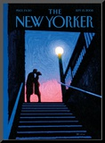 The New Yorker Cover - September 15, 2008 Mounted Print by Eric Drooker