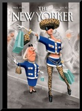 The New Yorker Cover - September 10, 2012 Mounted Print by Ian Falconer