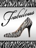 Fabulous Fashion Poster