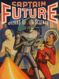 Captain Future Wizard of Science Television Poster Print