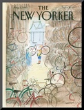 The New Yorker Cover - August 1, 1983 Mounted Print by Jean-Jacques Sempé