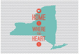 Home Is Where The Heart Is - New Mexico Posters