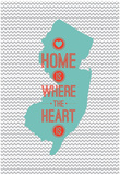 Home Is Where The Heart Is - New York Print