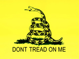 Gadsden Flag (Don't Tread on Me) Tea Party Historical Poster Prints