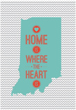 Home Is Where The Heart Is - Indiana Poster